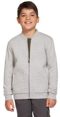 Dex Boy's Quilted Cotton Blend Bomber Jacket
