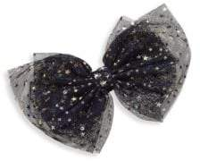 Bari Lynn Girl's Star Tulle Bow