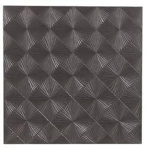 Orren Ellis Modern Carved Radial Patterned Tiles Wall Dcor