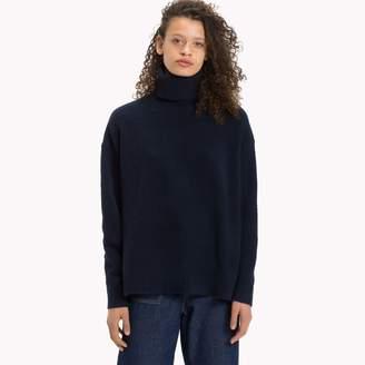 Tommy Hilfiger Oversized Turtleneck Sweater