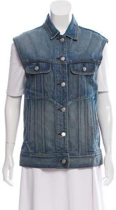Rag & Bone Oversize Denim Vest