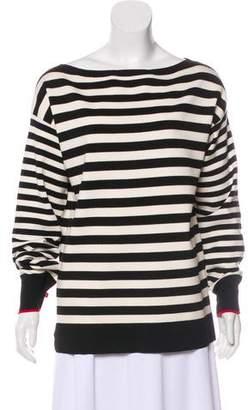 Jason Wu Grey by Wool Striped Sweater