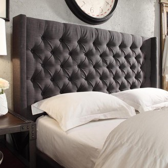 Homevance HomeVance Stanford Heights Tufted Wingback Headboard