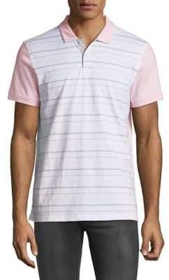 Calvin Klein Short-Sleeve Striped Shirt