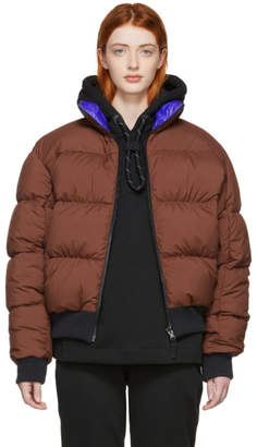 Nike Reversible Brown and Purple Down NRG Puffer Jacket
