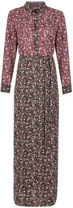 Dorothy Perkins Womens **Multi Colour Shirt Maxi Dress