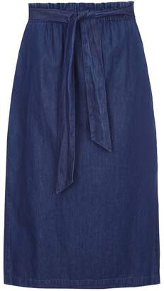 Nooki Design Goo Skirt - Denim