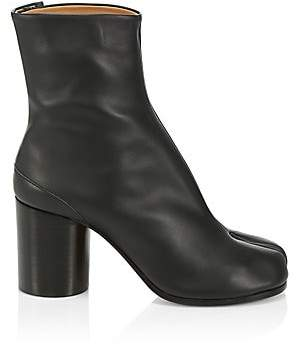 Maison Margiela Women's Tabi Leather Ankle Boots
