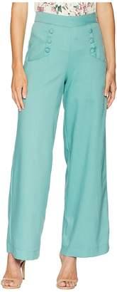 Unique Vintage Sailor Ginger Pants Women's Casual Pants
