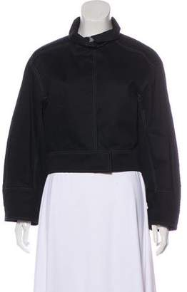 Lemaire Zip-Up Cropped Jacket