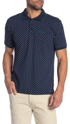 Ben Sherman Arrow Patterned Pique Polo