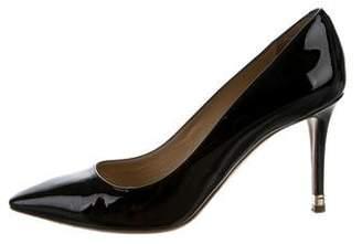 Nicholas Kirkwood Patent Leather Pointed-Toe Pumps
