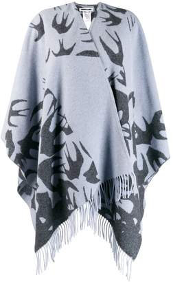 McQ large knitted scarf