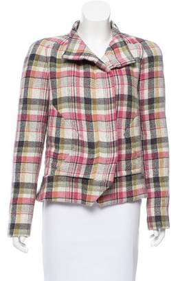 Isabel Marant Padded Linen-Blend Jacket w/ Tags