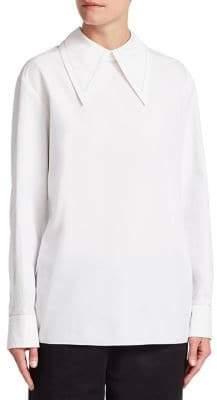 Marni Poplin Collared Shirt