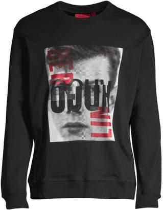 HUGO Dision Berlin Graphic Sweatshirt