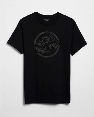 Express Lion Graphic Tee
