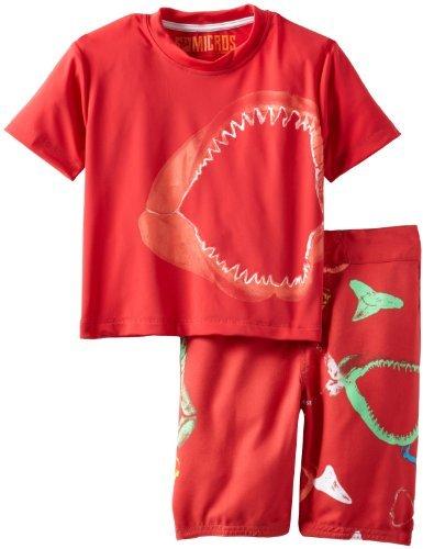 Micros Little Boys' Lock Jaw Kid's Swim Set