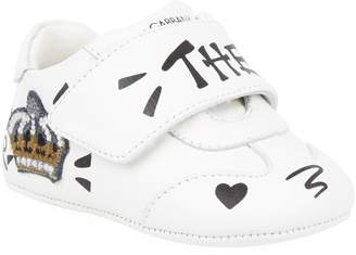 Dolce & Gabbana Leather Velcro Sneakers