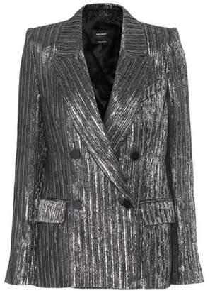 Isabel Marant Denel metallic blazer