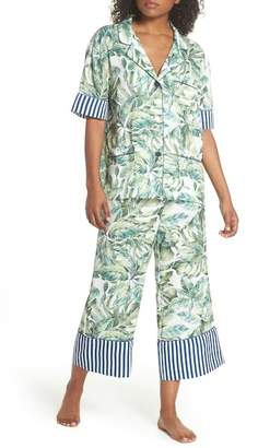 BED TO BRUNCH Cropped Pajamas