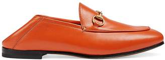 Gucci Women's Brixton Leather Loafers