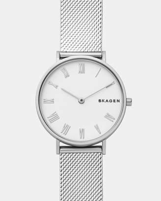 Skagen Hald Silver-Tone Analogue Watch