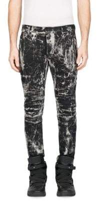 Balmain Slim-Fit Printed Pants