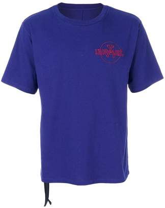 Unravel Project printed logo T-shirt