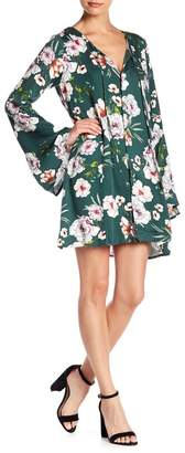 Somedays Lovin Some Days Lovin' Burning Desire Floral Bell Sleeve Dress
