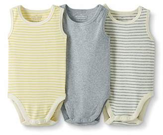 Hanna Andersson Moon and Back by Baby 3-Pack Organic Cotton Sleeveless Bodysuit
