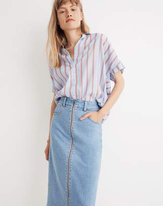 Madewell Central Shirt in Atwater Stripe