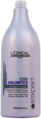 L'Oreal Professional 50.7Oz Liss Unlimited Keratinoil Complex Shampoo