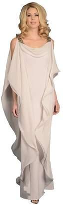 Off-White kelaixiang Long Chiffon Formal Mother of The Bride Dress Floor Length (,