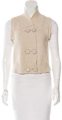 Chloé Wool Double-Breasted Vest
