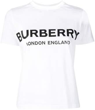 Burberry logo printed T-shirt