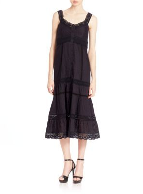Nanette Lepore All-Laced Up Dress $498 thestylecure.com
