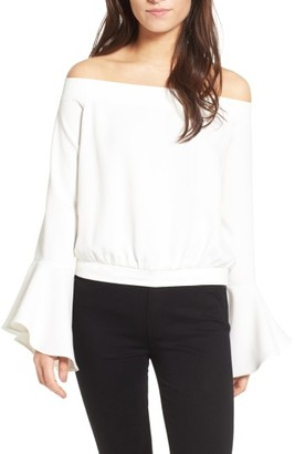 Women's Bardot Elson Off The Shoulder Top $69 thestylecure.com