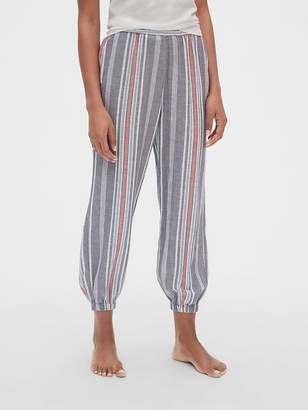 Gap Dreamwell Crinkle Stripe Pants