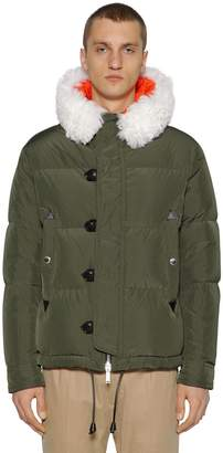 DSQUARED2 Hooded Nylon Taffeta Down Jacket