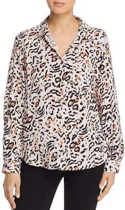 Velvet Heart Animal-Print Shirt