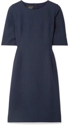 Akris Wool-blend Crepe Dress - Midnight blue