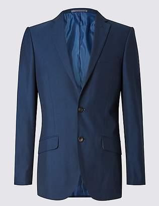 M&S Collection Big & Tall Indigo Modern Slim Fit Jacket
