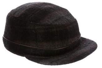 Eugenia Kim Wool-Blend Plaid Hat