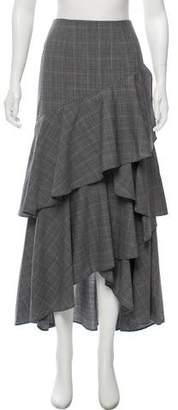 Alice + Olivia Wool Maxi Skirt