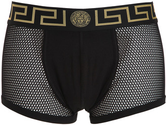 Stretch Mesh Boxer Briefs $73 thestylecure.com
