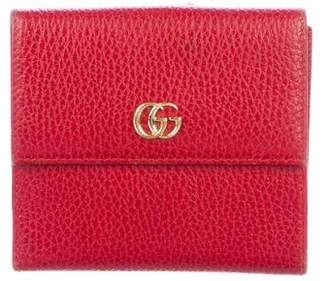 Gucci GG Marmont French Purse Wallet