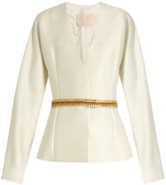 Brock Collection Jacqui wool and silk-blend jacket