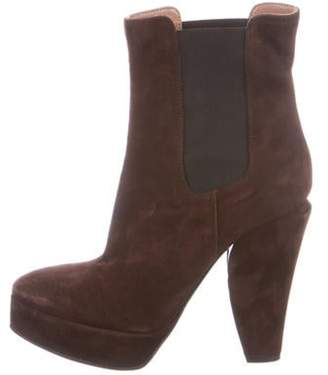 Marni Suede Ankle Boots Brown Suede Ankle Boots
