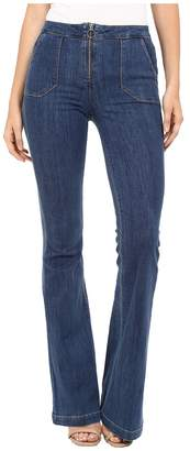 Paige High Rise Bell Canyon w/ Center Front Ring Zip and Pork Chop Pockets in Tayden Women's Jeans